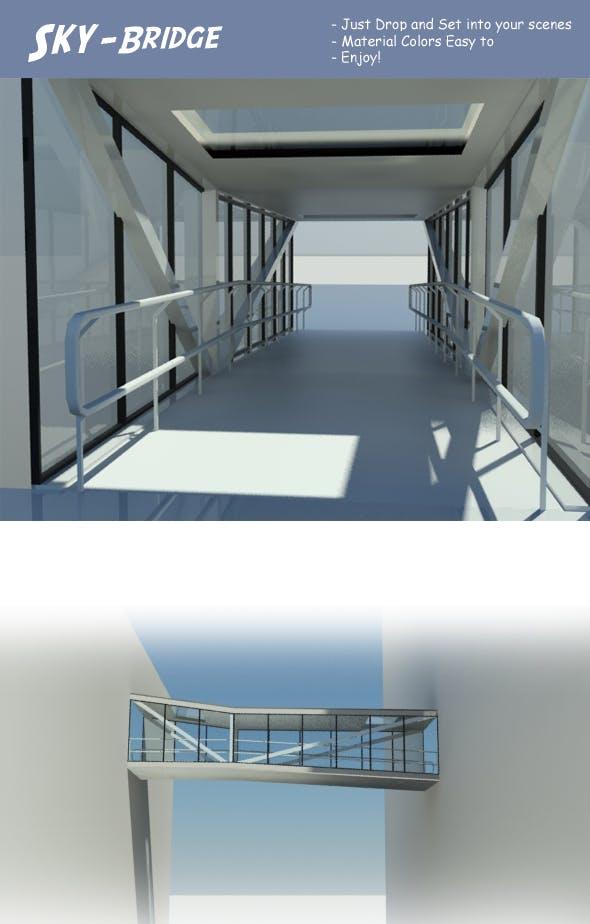 Sky Bridge - 3DOcean Item for Sale