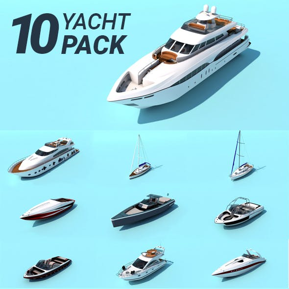 Yacht / Boat / Ships // PACK