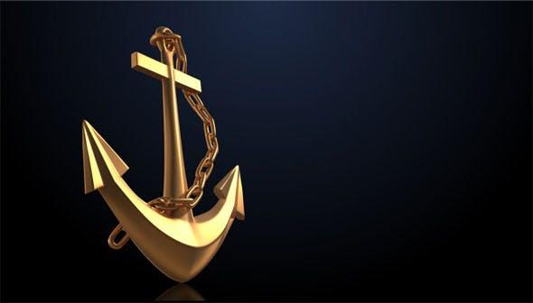 Ship Anchor - 3DOcean Item for Sale
