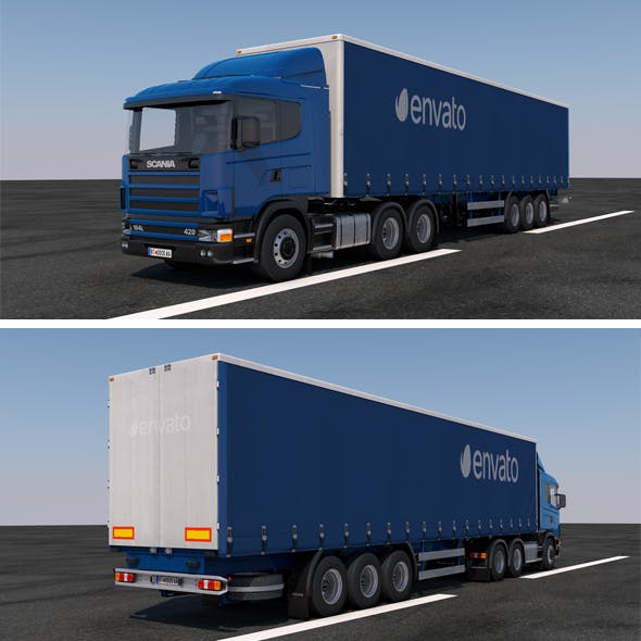Truck / TIR / Logo / Delivery