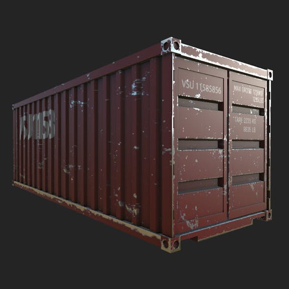 ship container - 3DOcean Item for Sale