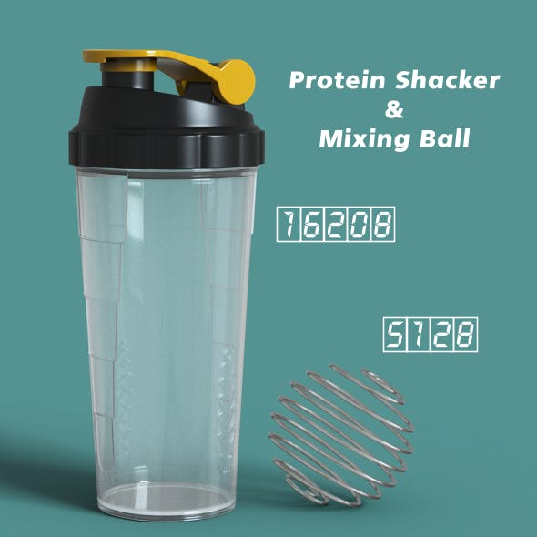 Protein Shaker & Mixing Ball