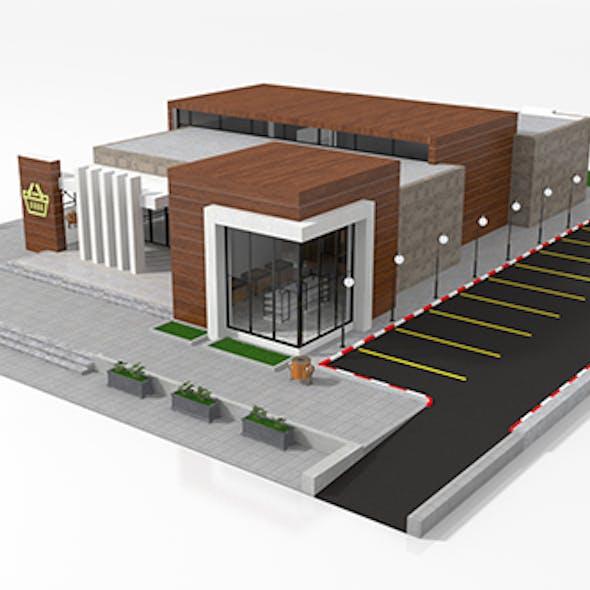 Supermarket Retail Store