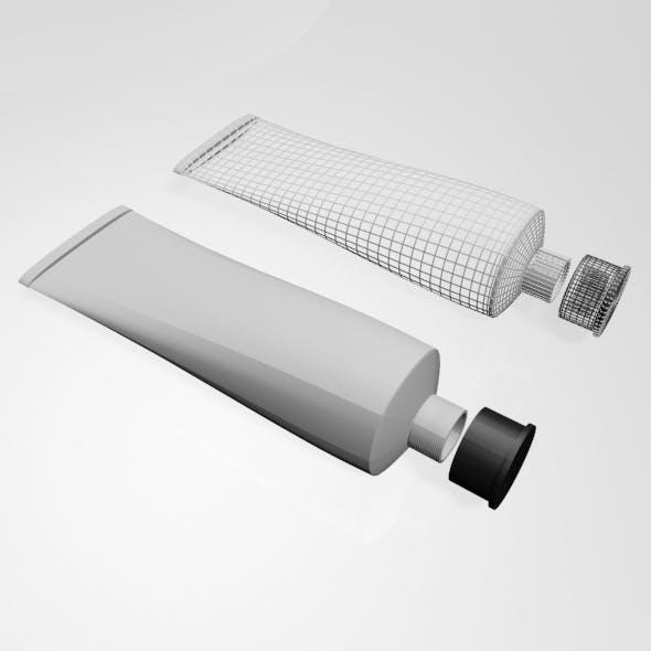 Aluminium Barrier Tube 01 - 3DOcean Item for Sale