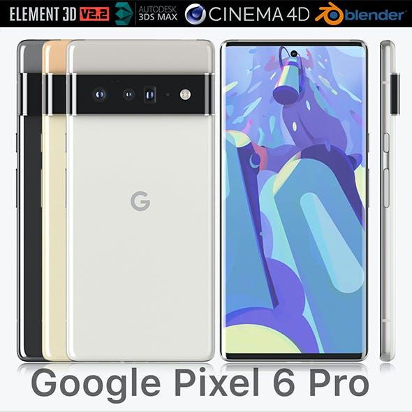 Google Pixel 6 Pro all colors