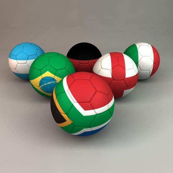 World Cup 2010 Footballs