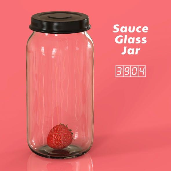 Sauce Glass Jar