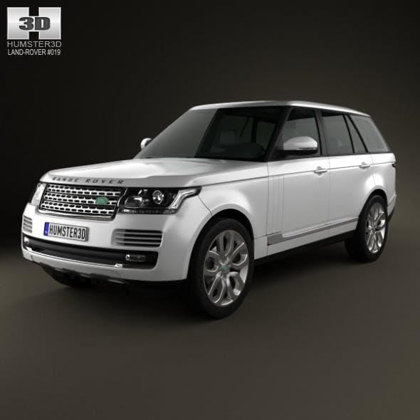 Land Rover Range Rover (L405) 2014 - 3DOcean Item for Sale