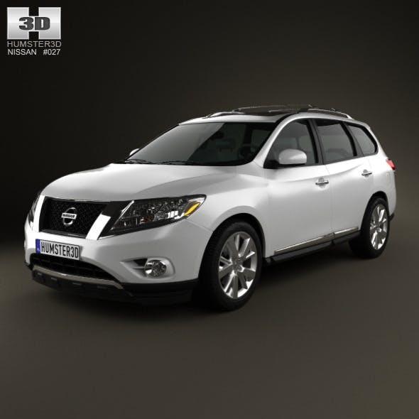 Nissan Pathfinder 2013 - 3DOcean Item for Sale