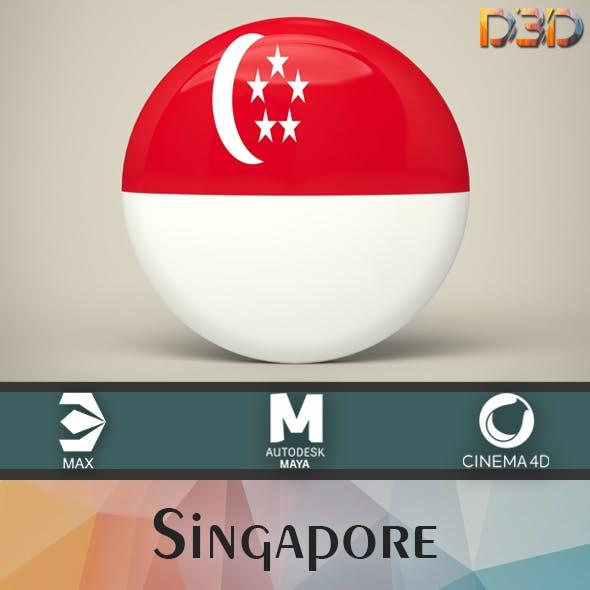 Singapore Badge