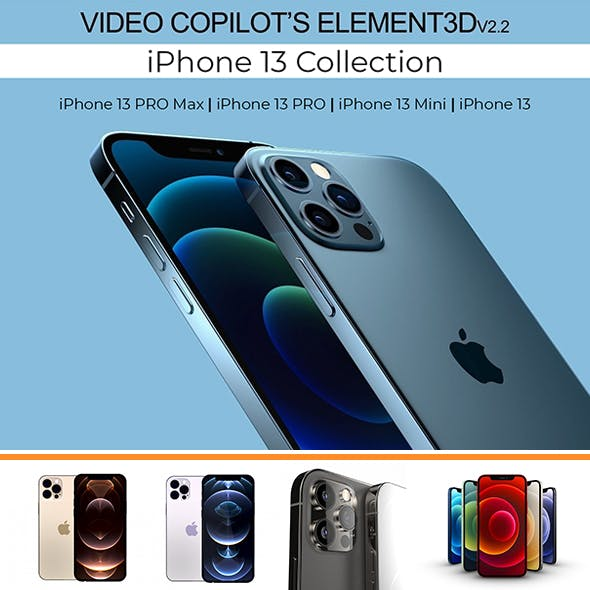 iPhone 13 Concept (Collection) All colors