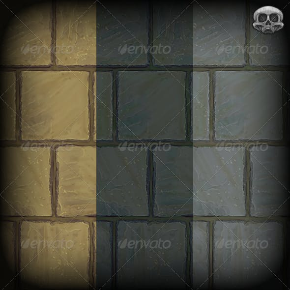 Stone Paving Slab Texture Tile