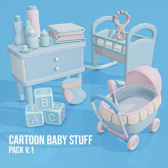 Cartoon Baby Stuff Pack v.1