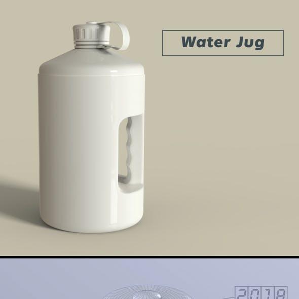 Sports Nutrition Water Jug Bottle