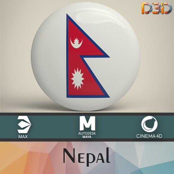 Nepal Badge