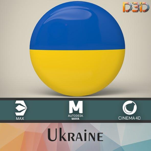 Ukraine Badge