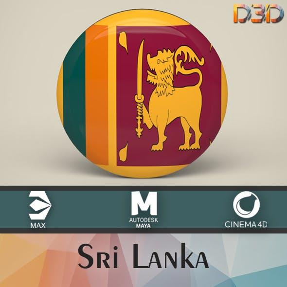 Sri Lanka Badge
