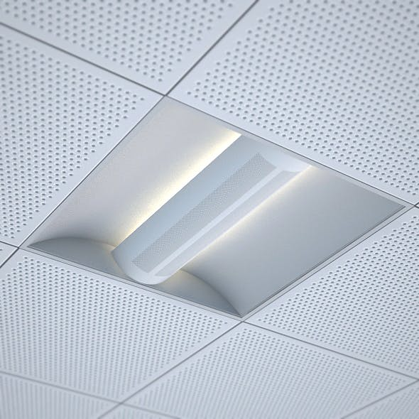 office recessed ceiling light