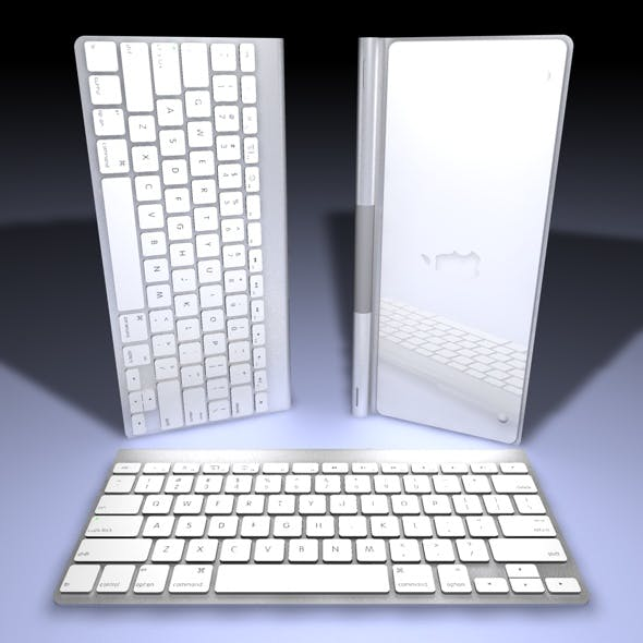 Realistic Sleek Keyboard