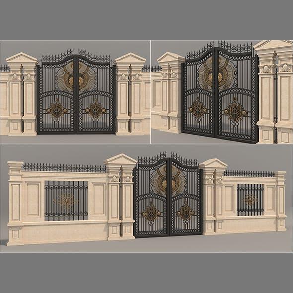 Classic Mansion Gate 3