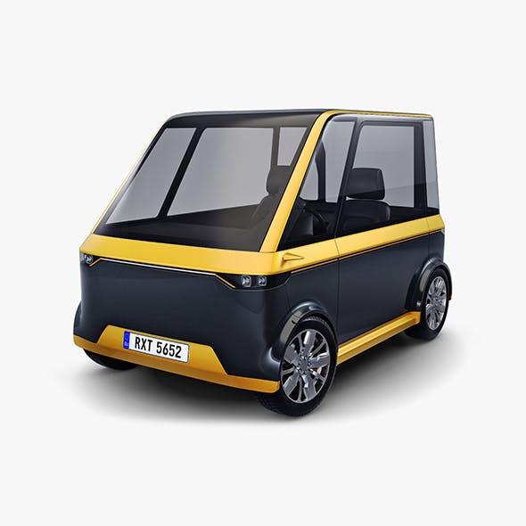 Generic Compact City Car v 1