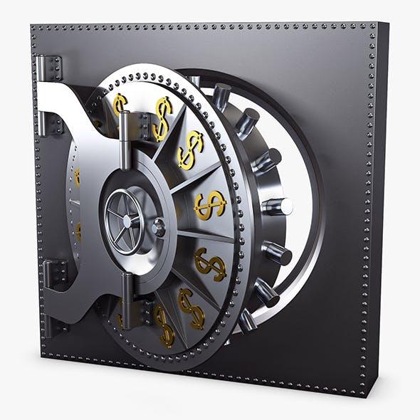 Bank Vault Door v 2 - 3DOcean Item for Sale