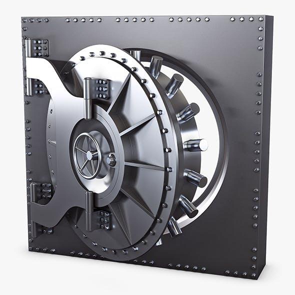 Bank Vault Door v 3 - 3DOcean Item for Sale