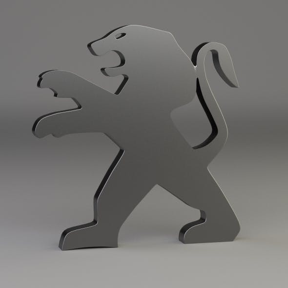 Peugeot Wheel Logo - 3DOcean Item for Sale