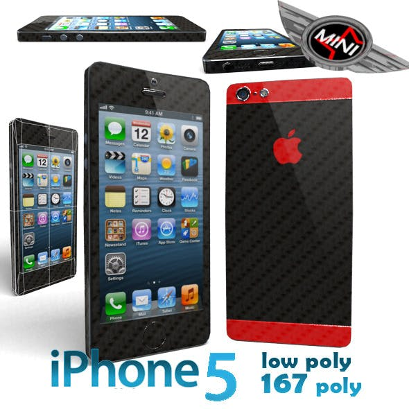 I-Phone 5 Low Poly 167