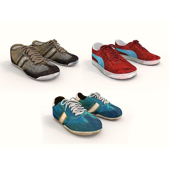 Sport Shoes 2 - 3DOcean Item for Sale