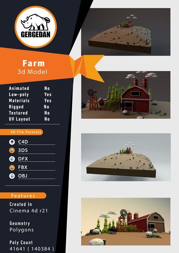 Farm - 3DOcean Item for Sale