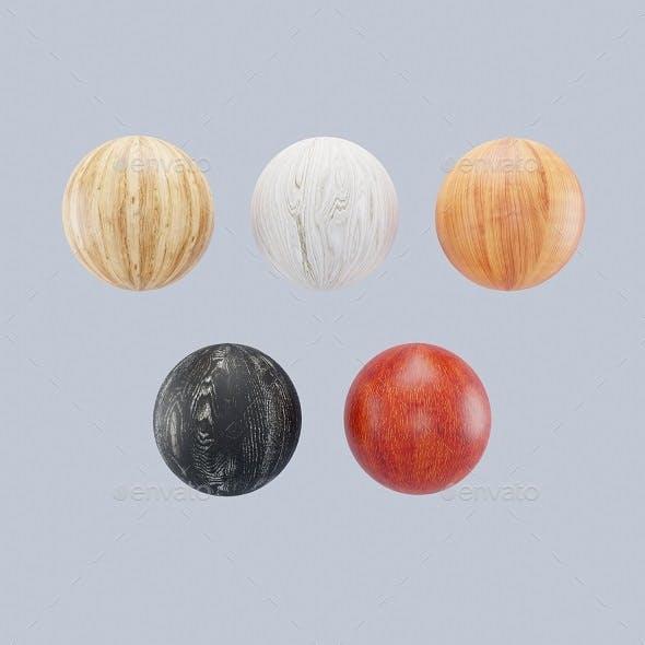 Seamless wood texture A