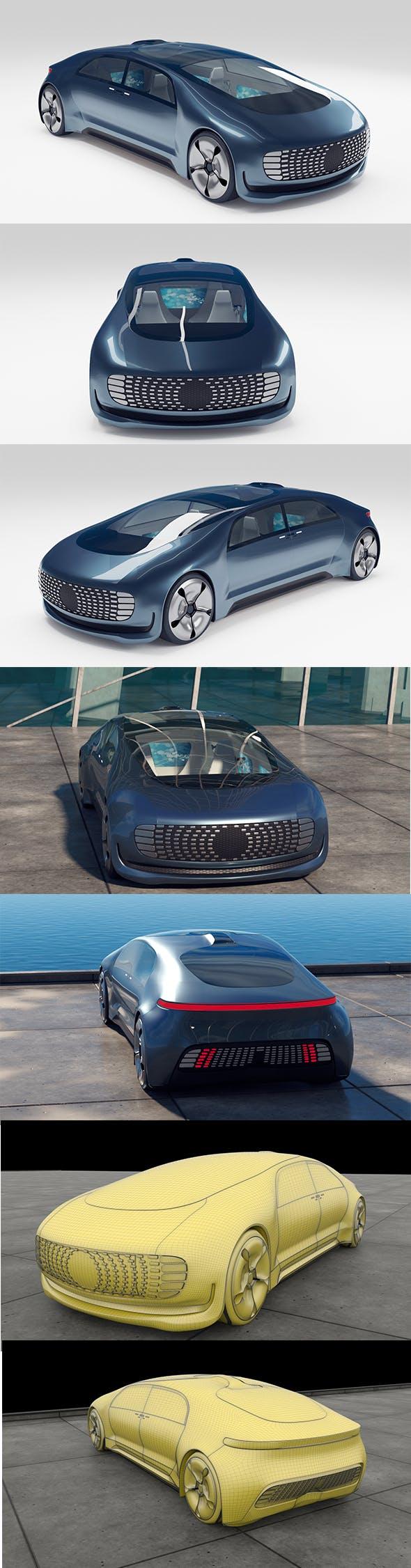 Mercedes-Benz Luxury F015 - 3DOcean Item for Sale