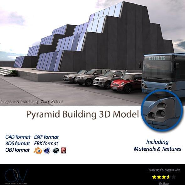 Pyramid Building 3D Model