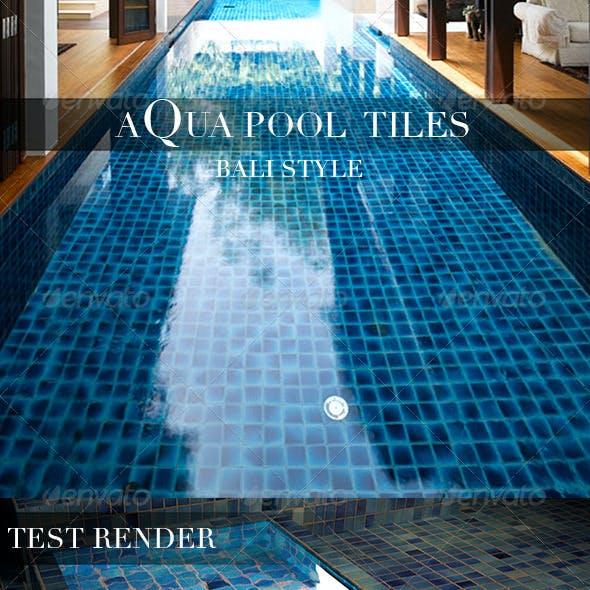 Aqua Pool Tiles