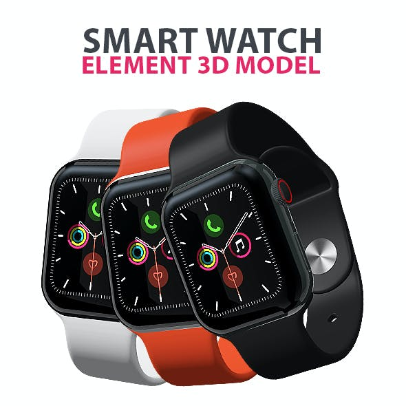 Smart Watch for Element 3D & Cinema 4D