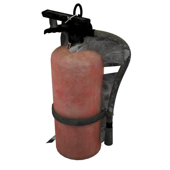 Dusty Fire Extinguisher