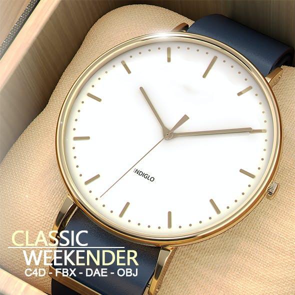 Classic Weekender Watch Inside Box