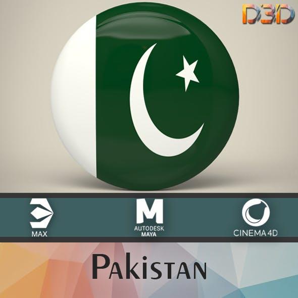 Pakistan Badge - 3DOcean Item for Sale