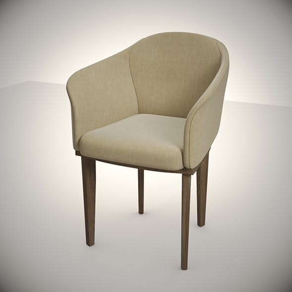 Giorgetti Armchair Normal - 3DOcean Item for Sale