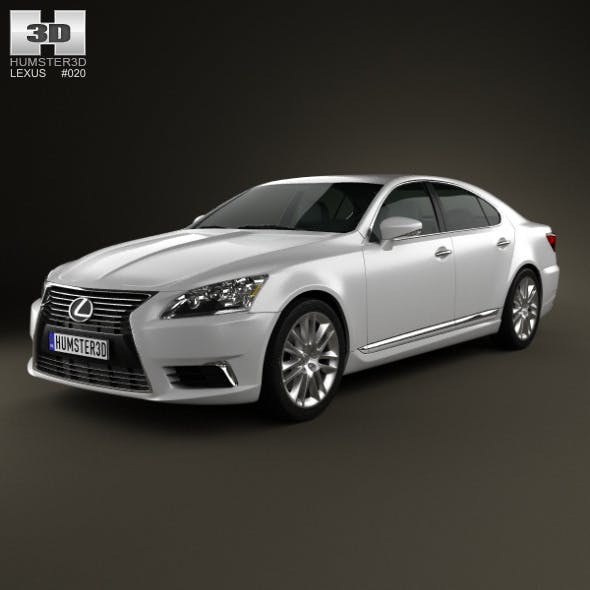 Lexus LS (XF40) 2012