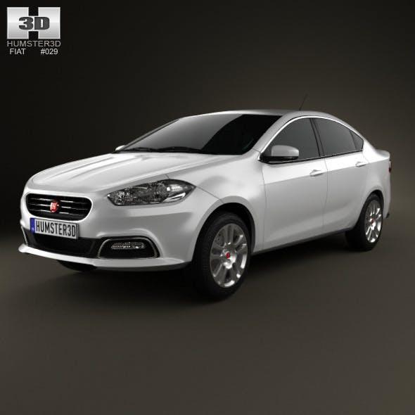 Fiat Viaggio 2013 - 3DOcean Item for Sale