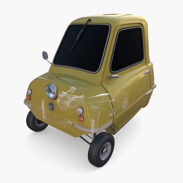 Generic 50cc Microcar with chassis