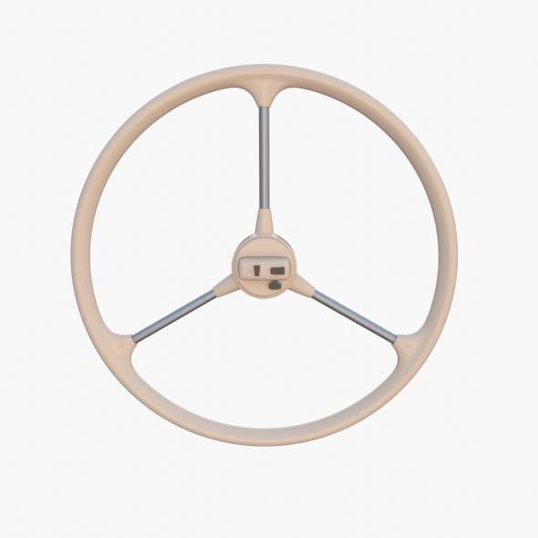 Microcar Steering Wheel - 3DOcean Item for Sale