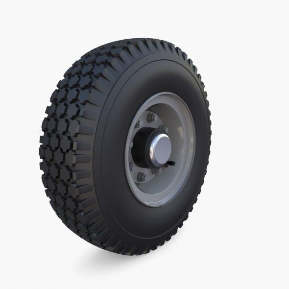 Microcar Wheel - 3DOcean Item for Sale