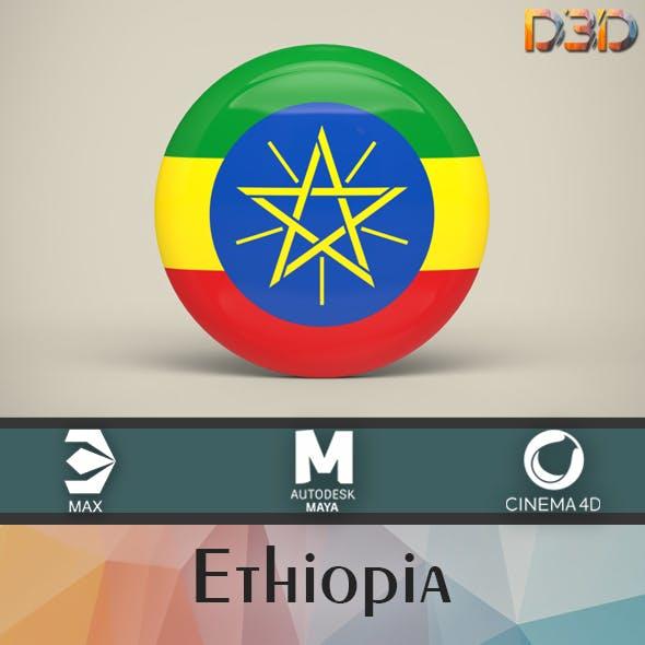 Ethiopia Badge - 3DOcean Item for Sale
