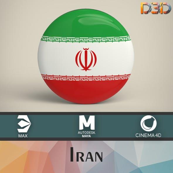 Iran Badge - 3DOcean Item for Sale