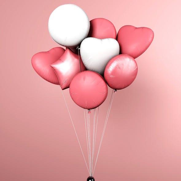 Balloons / 10 Colorful balloons