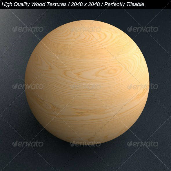 5 HQ Wood Textures with Bump & Specular Maps