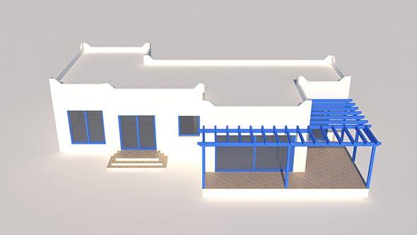 Greek House - 3DOcean Item for Sale